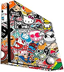 Popular Sticker Bomb Playstation 4 PS4 Console Vinyl Decal Sticker Skin by PersonalizedPrinting4u