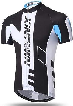 HBRT Camisetas de Ciclismo para Hombre Tops, Bolsillos de Chaqueta ...