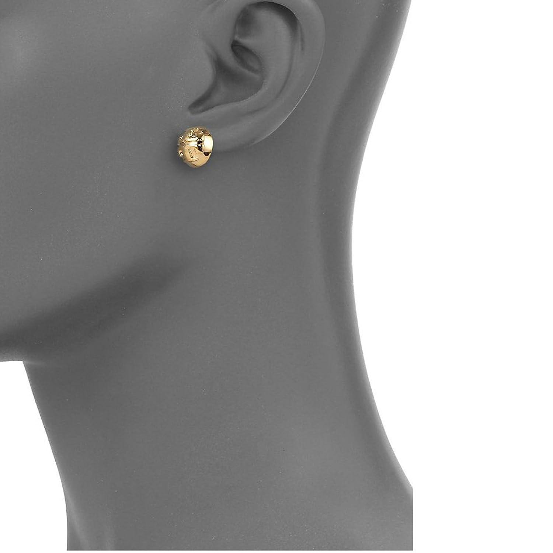 Amazon Tory Burch Domed Stud Earrings Jewelry