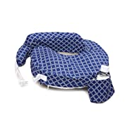 My Brest Friend My Brest Friend Original Nursing Pillow Kaleidoscope, Navy/White