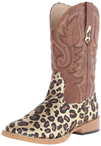 Roper Glitter Square Toe Cowgirl Boot (Infant/Toddler/Lit...
