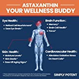 Astaxanthin 10mg 120 High Potency Softgel, One