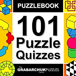 101 Puzzle Quizzes (Interactive Puzzlebook for E-readers) by [The Grabarchuk Family]