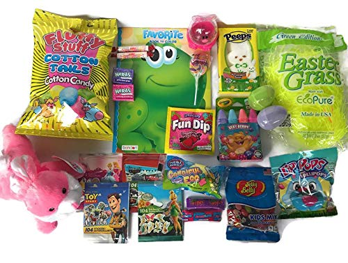 Easter Basket Stuffers Girls Boys - Toys Candy Easter Theme Party Favor Easter Eggs Hunt Basket Stuffers Fillers ()