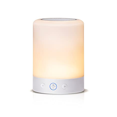 Countryside Touch On/off Book Lights Bedside Led Night Lamp Wireless Speaker Music Table Lamp Usb Rechargeable Power Book Lights Lights & Lighting