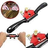 Vivona 9 Inch Adjustable Woodcraft Metal Blade Spoke Shave Plane Wood Working Hand Tool