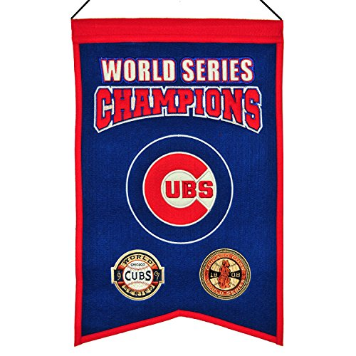 Winning Streak MLB Chicago Cubs WS Champions Banner, One Size
