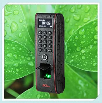 IP65 al aire libre impermeable huella dactilar Control de acceso Terminal tf1700 ZKSoftware: Amazon.es: Electrónica