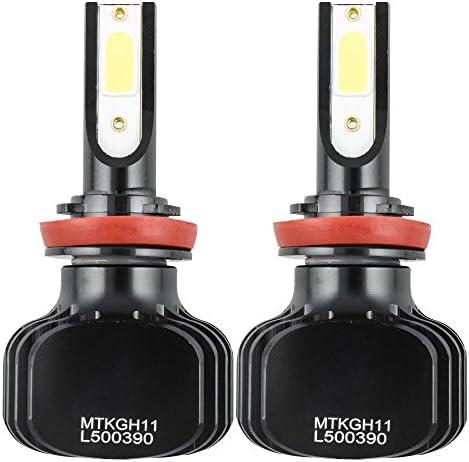 4x Combo LED Headlight 9003 H4 Hi//Lo Beam H16 Fog Light For Toyota Tacoma Tundra