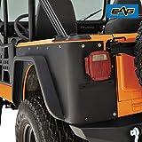 EAG Off Road Steel Rear Corner Guards Fit for 76-86 Jeep Wrangler CJ7