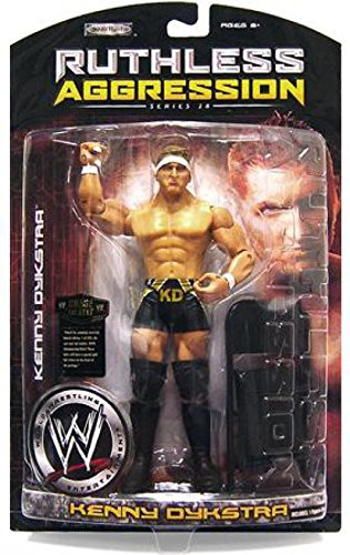 Jakks Pacific WWE Wrestling Ruthless Aggression Series 28 Kenny Dykstra Action Figure ()