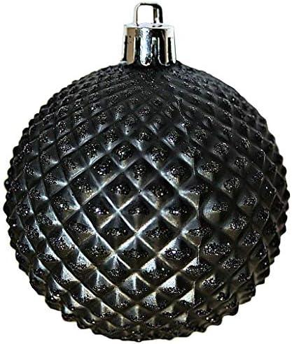 """Details about  /Vickerman 6/"""" Turq Durian Glitt Ball Orn Drill 4//Bg"""