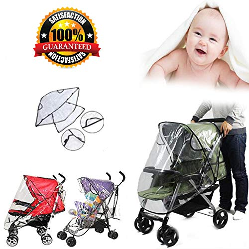 Baby Universal Waterproof Stroller Rain Cover Wind Dust Shield Pushchair Covers Sun Shade Canopy Buggy Pram Accessories