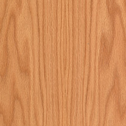 Red Oak Wood Veneer Plain Sliced 2'x8' PSA 9505(Peel and Stick) Sheet