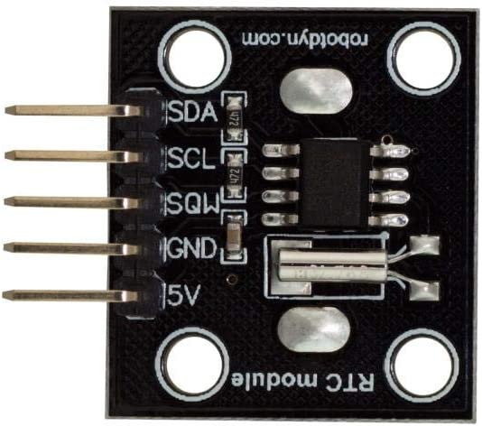 Yongse RobotDyn RTC Real Time Clock DS1307 Scheda modulo con interfaccia Bus I2C per Arduino