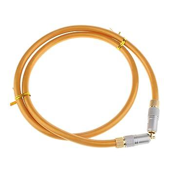 MagiDeal Cable de Video Compuesto Digital RCA Coaxial CA A Conectores Macho RCA Cable Herramientas -
