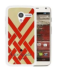 Kate Spade Cover Case For Motorola Moto X White Phone Case 95