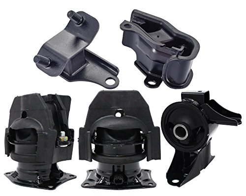 Front Rear Engine and Trans Mount 5pcs Kit fit 2005 2006 Honda Odyssey Touring EX-L 3.5L ()