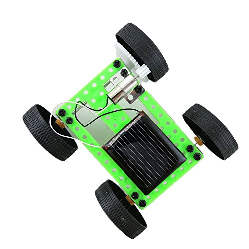 Hpapadks 1 Set Mini Solar Powered Toy DIY Car Kit Children Educational Gadget Hobby Funny from Hpapadks Toys