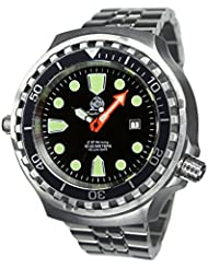 German Automatic diver watch from Tauchmeister 1000m Sapphire glass T0285M