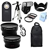 Ultimate PLUS Accessory Package for Canon Xti (400D) Digital SLR Camera