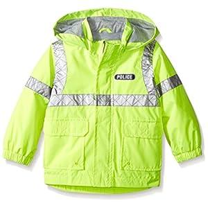 London Fog Little Boys Police Rain Slicker, Yellow, 7