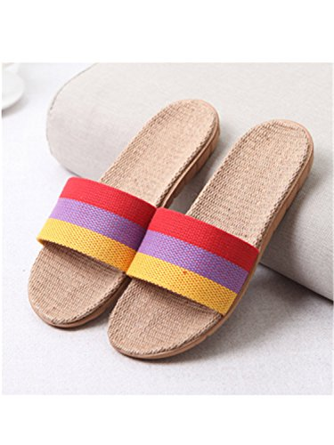 Jwhui Home Summer Woman New Bedroom 22 Slipper Indoor Shoes Flat House Beach Gradient Slippers Plus Size 30 Slippers Women Women Color rEqr8x5w