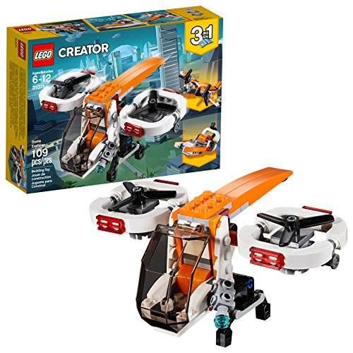 LEGO Creator 3in1 Drone Explorer 31071 Building Kit (109 Piece) -