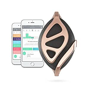 Bellabeat Leaf Urban Health Tracker/Smart Jewelry, Rose Gold Edition