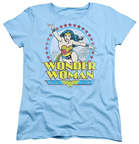 Womens: Wonder Woman - Star Of Paradise Island Ladies T-Shirt Size M