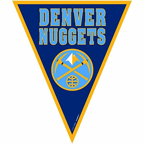 Amscan Amazing Denver Nuggets NBA Pennant Banner, 12′, Blue – Sports Center Store