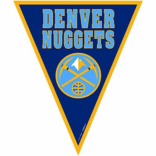 Amscan Amazing Denver Nuggets NBA Pennant Banner, 12′, Blue – DiZiSports Store