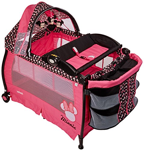 Disney Baby Corral 2 Niveles Cambiador Minnie, color Rosa