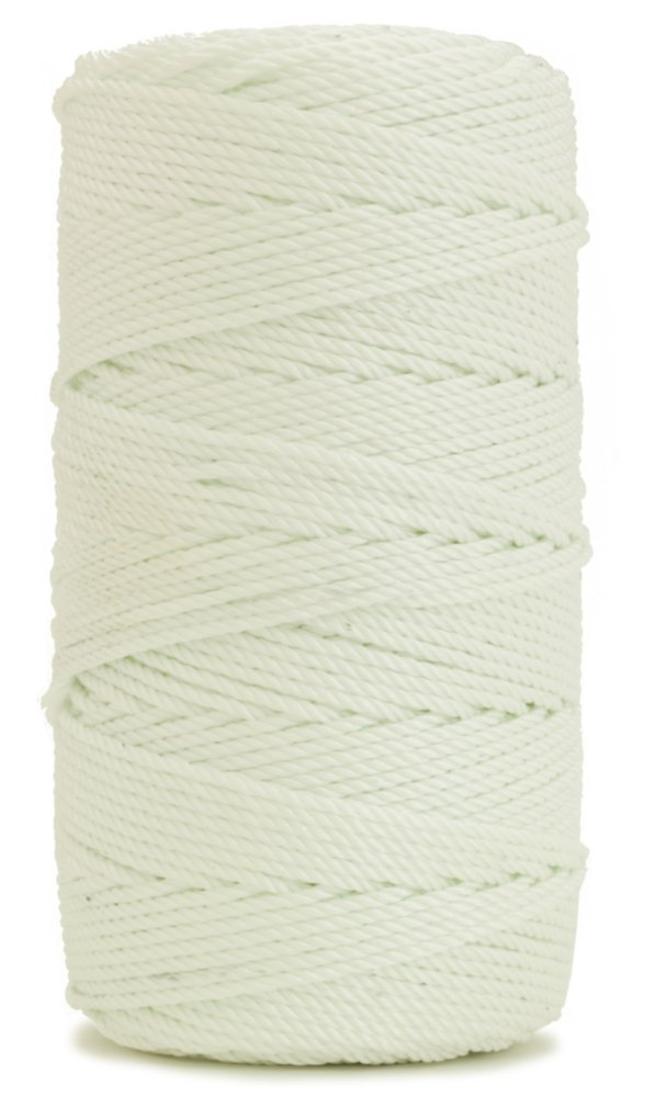 Rosary Twine, Twisted Nylon. Size #36, White, 1 lb 6-pack by CMI