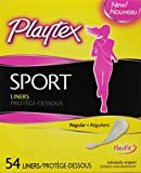 Playtex Sport Body Shape Liners, Regular - 54 Count