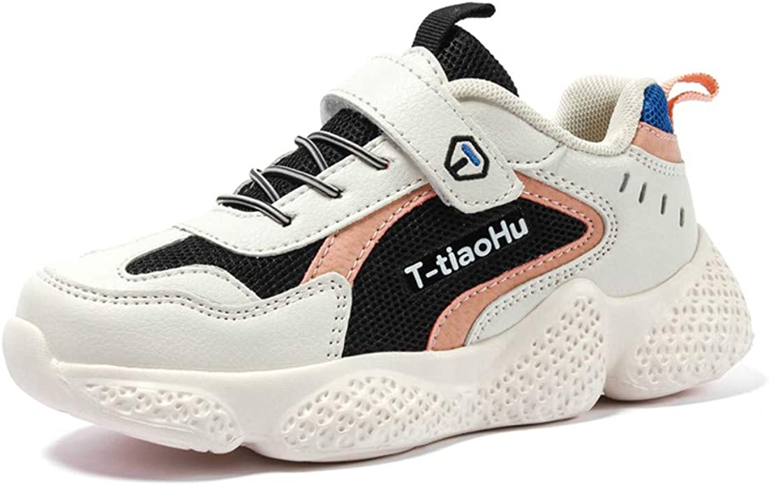 Kid Running Shoes Boys Girls Sneakers Tennis Shoes Casual Lace Up Athletic Shoes