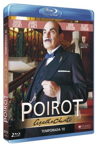 Agatha Christie's Poirot (Season 10) - 2-Disc Set ( Agatha Christie's Poirot - Season Ten ) [ Blu-Ray, Reg.A/B/C Import - Spain ]