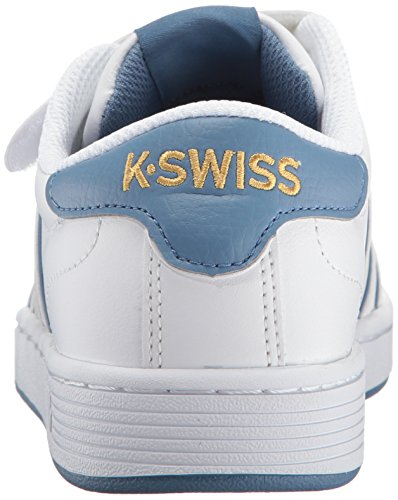 K-swiss Kvinna Hoke 3-rem Sp Cmf Gymnastiksko Vit / Coronet Blå / Guld