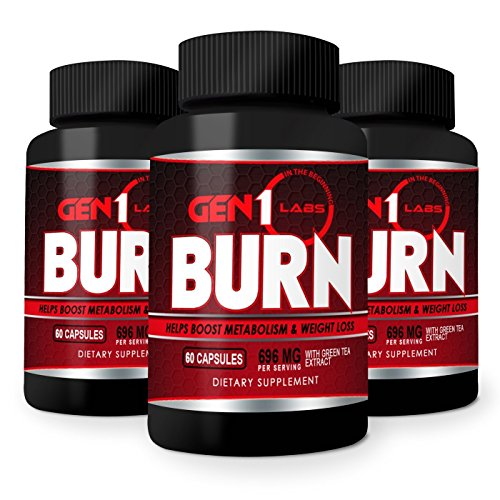 Best Thermogenic Fat Burner and Weight Loss Pills that help Increase Metabolism Energy and Appetite Control. Lose Weight and BURN Belly Fat w/Caffeine, Raspberry Ketones and Green Tea Extract 60ct