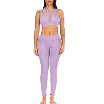 YanHoo - Pantalones Largos de Yoga para Mujer - Elegantes ...