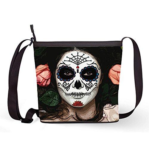 Popular Skull Fashion and Bag Crossbody Female Bag Shoulder Bag21 with Sling Bag Casual Sugar Sugar Sling Print fwUqxwrEA7