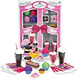 Sophia's Complete 27 Pc Doll Accessory Food Set, 15 Sweet Treats & Spoons & Paper Napkins, 18 Inch Doll Pretend & Doll Accessory Play Set; Floats, Shakes, Cupcakes & More in Decorative Keepsake Box