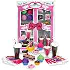 Complete 27 Pc Doll Accessory Food Set, 15 Sweet Treats & Spoons & Paper Napkins, 18 Inch Doll Pretend & Doll Accessory Play Set; Floats, Shakes, Cupcakes & More in Decorative Keepsake Box by Sophia's