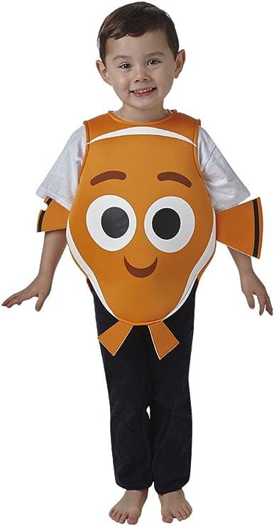 Rubies - Disfraz de Nemo para niños, infantil talla 3-4 años ...
