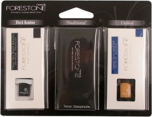 Forestone Tenor Saxophone 3-Reed Sample Pack Strength 2.5 by FORESTONE
