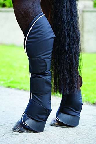 Horseware Ireland Rambo Travel Boots Black/Diamante Horse by Horseware Ireland