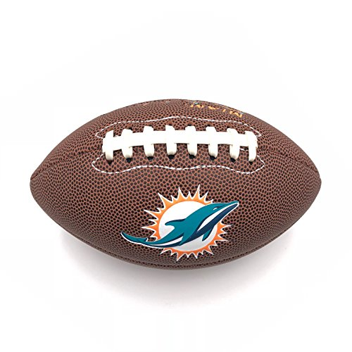Jarden Sports Licensing NFL Miami Dolphins OS PDQ Air It Out Football, Youth Size - Miami Dolphins Soft Football