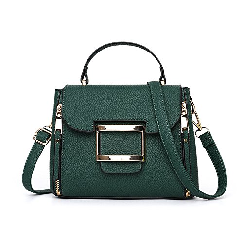 GWQGZ Nuevo Bolso Bandolera Casual De Dama Moda Bolso Verde Green