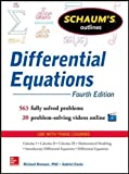 Schaum's Outline of Differential Equations, 4th Edition (Schaums' Outline Series)