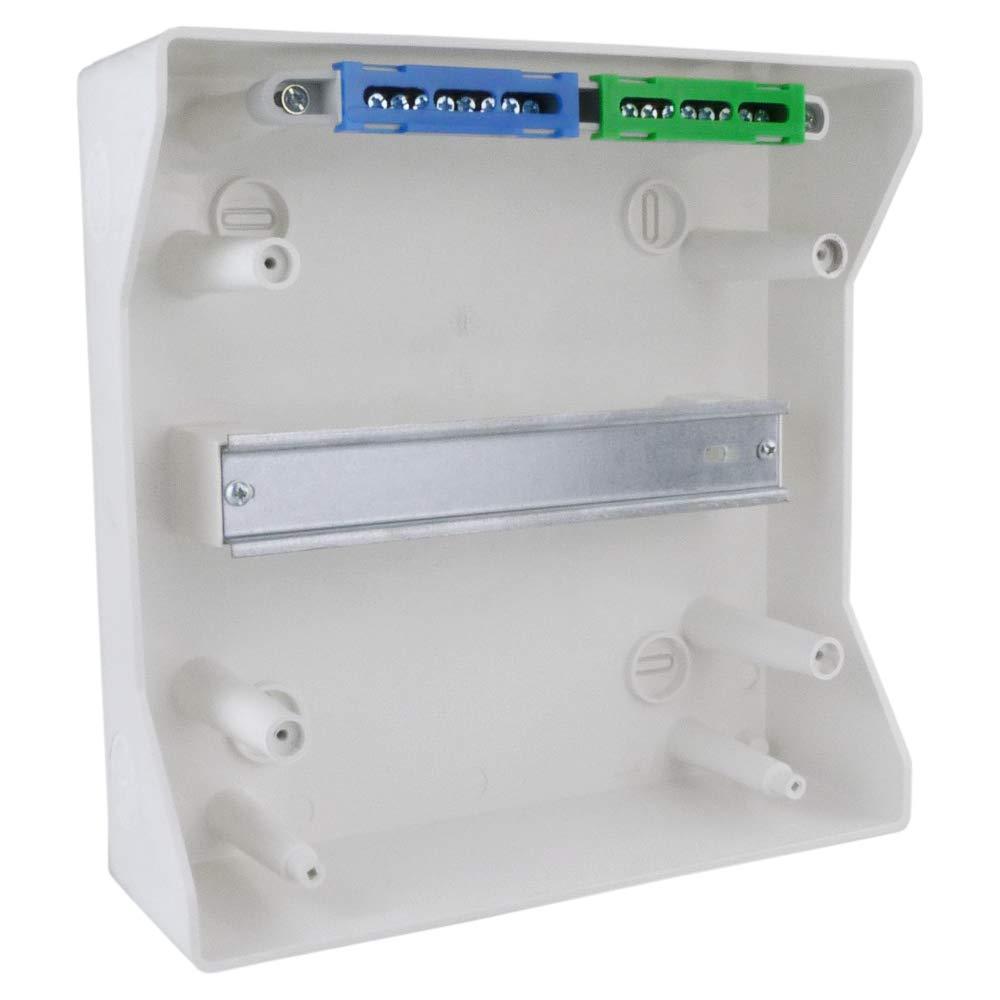 Feuchtraumverteiler Verteilerkasten Sicherungskasten RH72//4 IP65 AP VDE 72Module